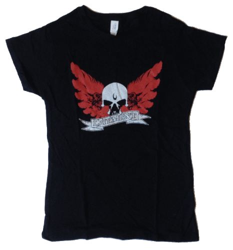 "Layment Girlie-Shirt ""Wings"""