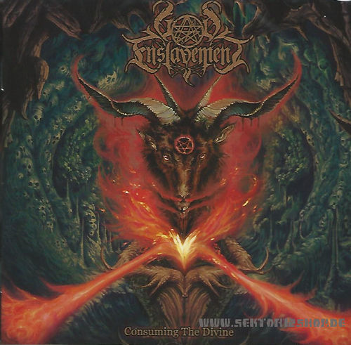 "God Enslavement ""Consuming The Divine"" CD"