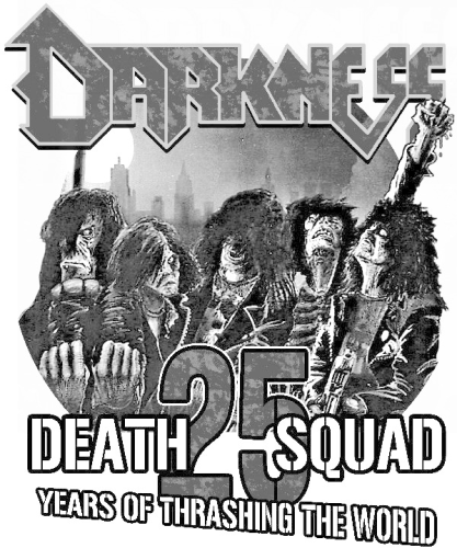 "Darkness T-Shirt ""Death Squad Maniac"""
