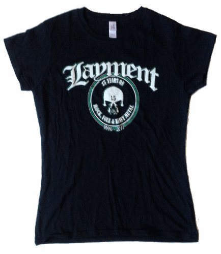 "Layment Girlie-Shirt ""15 Years"""