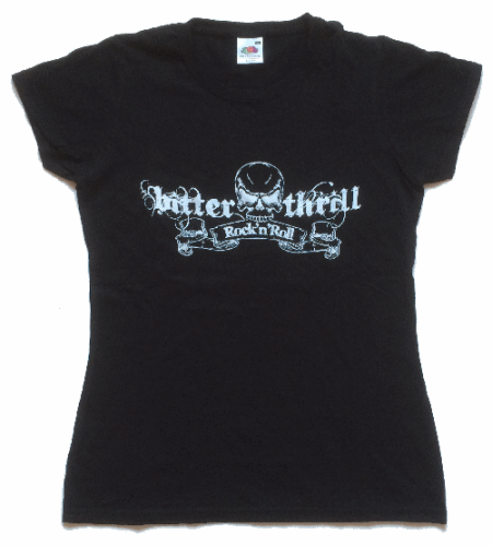 "Bitter Thrill Girlie-Shirt ""Rock´n Roll"""