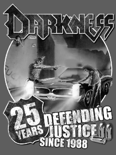 "Darkness T-Shirt ""Defending Justice"""