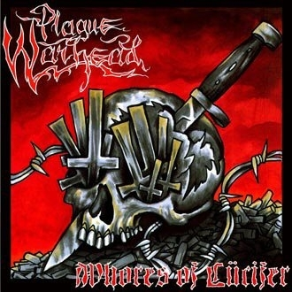 "Plague Warhead ""Whores Of Lücifer"" CD"