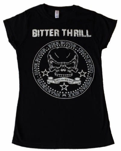 "Bitter Thrill Girlie-Shirt ""Freakshow"""