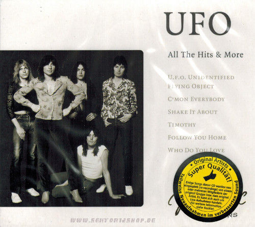 "UFO ""All The Hits & More"" CD"