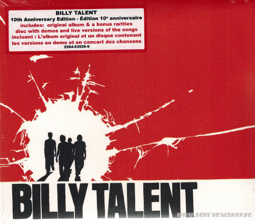 "Billy Talent ""10th Anniversary Edition"" 2-CD"