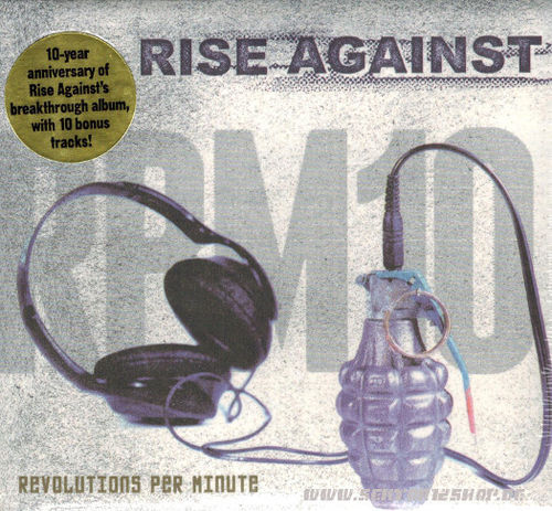 "Rise Against ""Revolutions Per Minute"" CD"