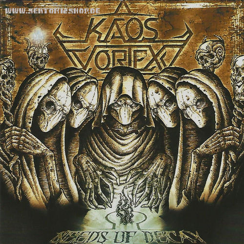 "Kaos Vortex ""Seeds Of Decay"" CD"