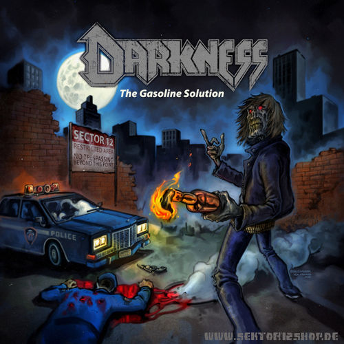 "Darkness ""The Gasoline Solution"" Grey Vinyl"