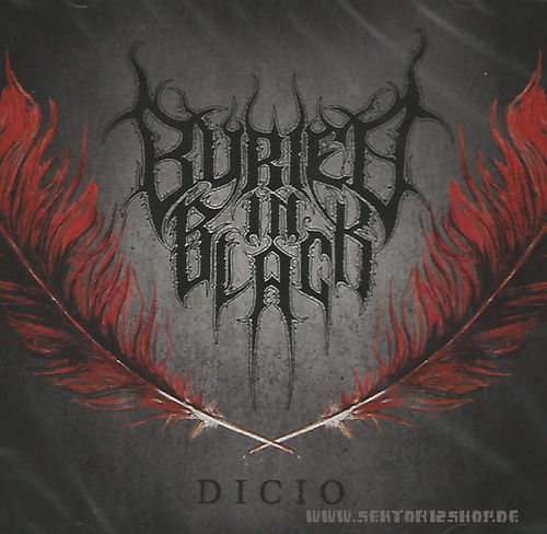 "Buried In Black ""Dicio"" CD"