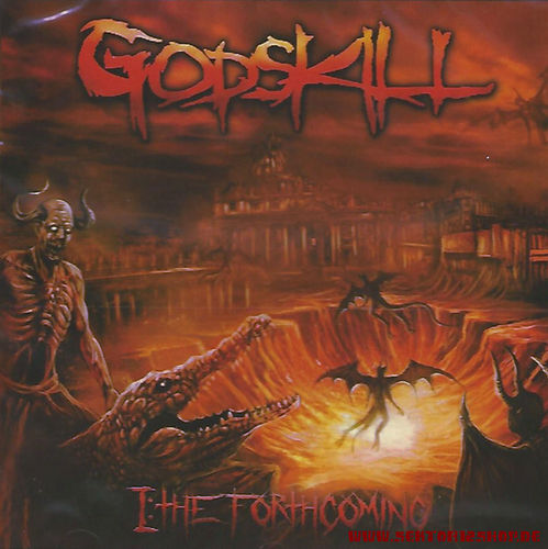 "Godskill ""I-The Forthcoming"" CD"