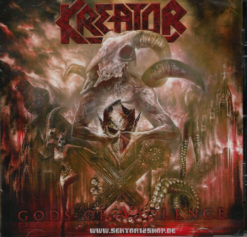 "Kreator ""Gods Of Violence"" CD"