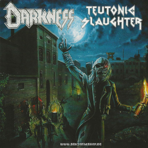 Darkness / Teutonic Slaughter Split-Single-Vinyl
