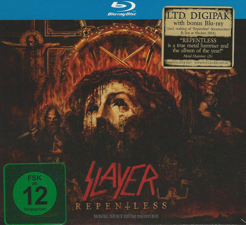 "Slayer ""Repentless"" CD (Ltd. Digipak)"