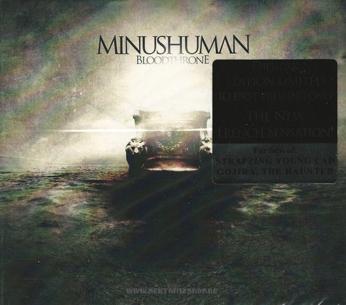 "Minushuman ""Bloodthrone"" CD"
