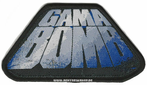 "Gama Bomb Patch ""Logo Blue"""