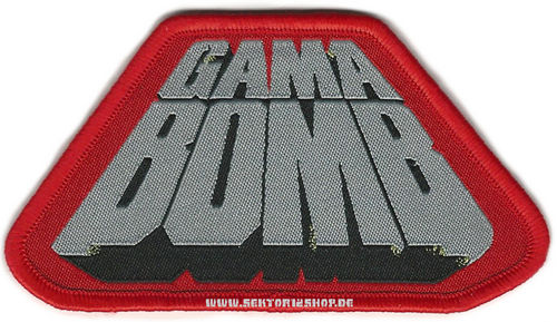 "Gama Bomb Patch ""Logo Red"""
