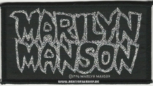 "Marilyn Manson Patch ""Logo"""