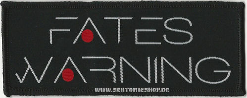 "Fates Warning Patch ""Logo"""