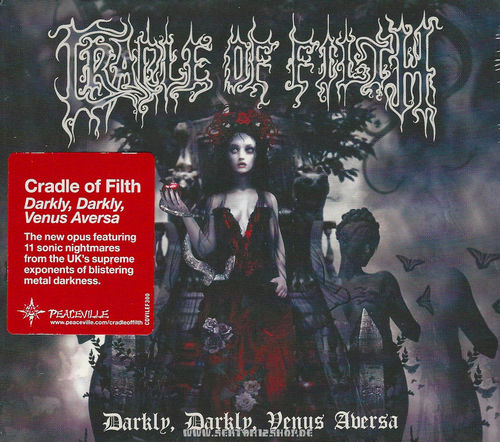 "Cradle Of Filth ""Darkly, Darkly, Venus Aversa"" CD"