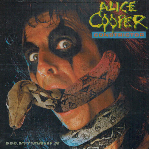 "Alice Cooper ""Constrictor"" CD"