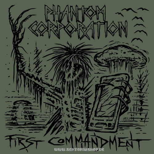 "Phantom Corporation ""First Commandment"" LP (Black Vinyl)"