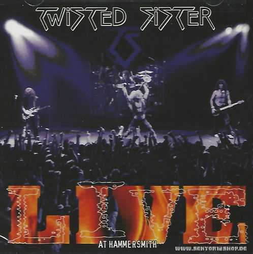 "Twisted Sister ""Live At Hammersmith"" 2-CD"