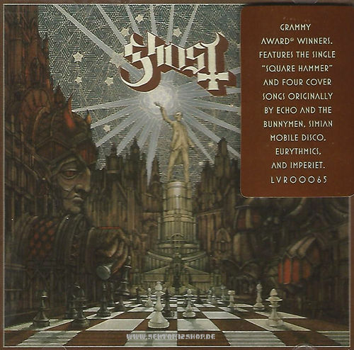 "Ghost ""Popestar"" EP-CD"