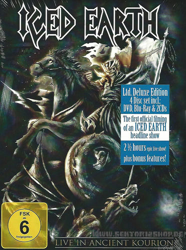 "Iced Earth ""Live In Ancient Kourion"" Ltd. Deluxe Edition"
