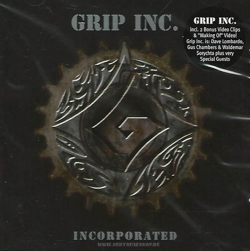 "Grip Inc. ""Incorporated"" CD"