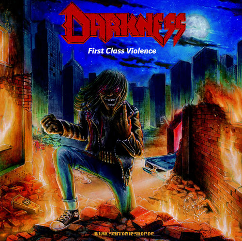 "Darkness ""First Class Violence"" LP (White Vinyl)"