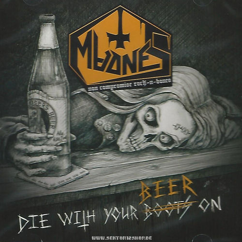 "MadneS ""Die With Your Beer On"" CD"