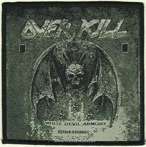 "Overkil Patch ""White Devil Armory"""