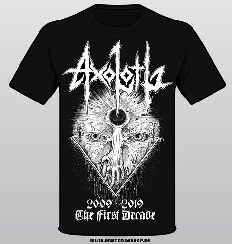 "Axolotl T-Shirt ""The First Decade"""