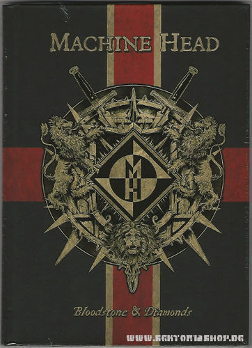 "Machine Head ""Bloodstone & Diamonds"" CD"