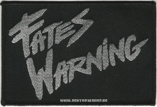"Fates Warning Patch ""Silver Logo"""