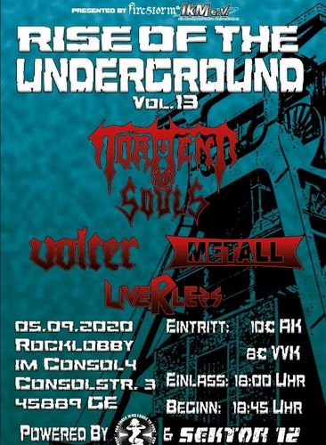 """Rise Of The Underground - Vol. 13"" - Concert-Ticket"
