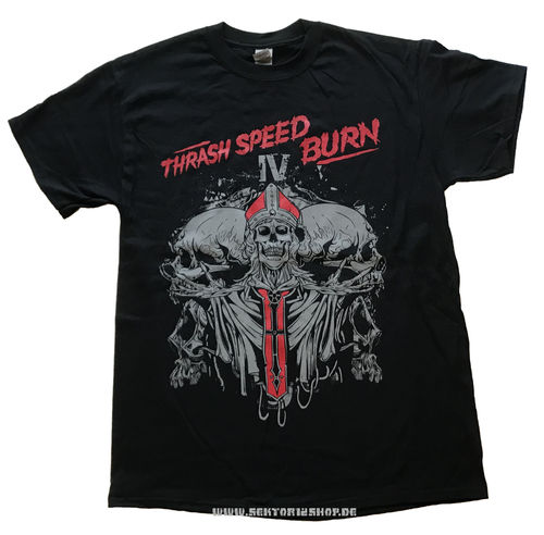 """Thrash Speed Burn Vol. 4"" T-Shirt"