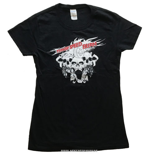 """Thrash Speed Burn Vol. 2"" Girlie-Shirt"