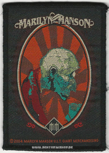 "Marilyn Manson Patch ""Old Man"""