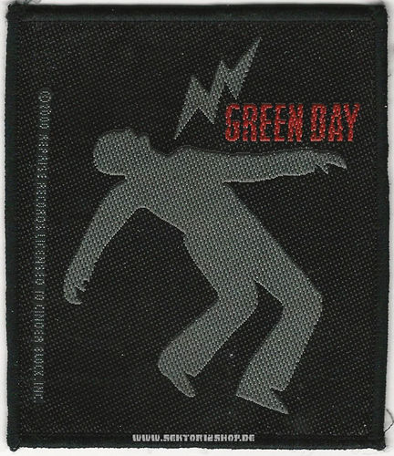 "Green Day Patch ""Warning"""