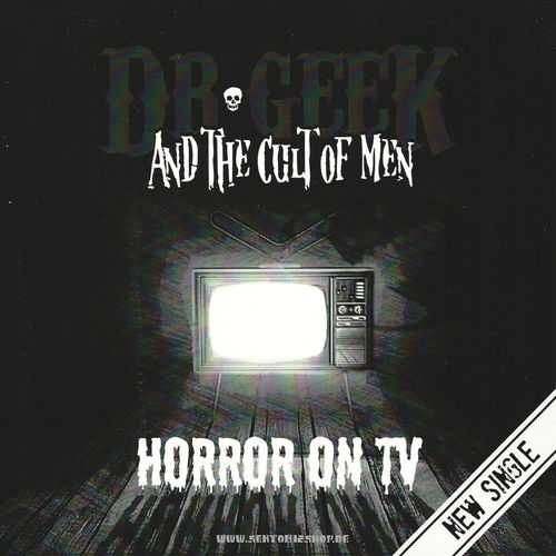 "Dr. Geek And The Cult Of Men ""Horror On TV"" Single (Purple Vinyl)"