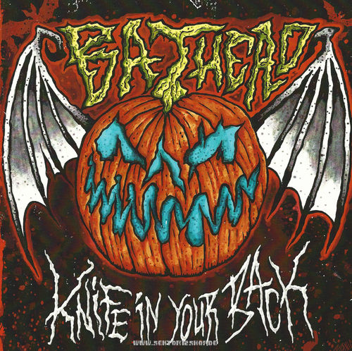 "Bathead ""Knife In Your Back"" Single (Transparent Rotes Vinyl)"