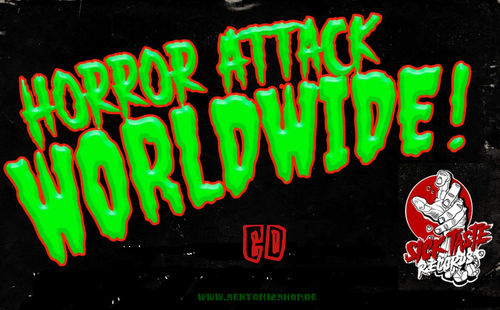 "Horror Attack Worldwide ""Vol.1-Vol.5"" Sampler CD"