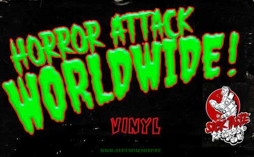 "Horror Attack Worldwide ""Vol.1-Vol.5"" Sampler Vinyl"